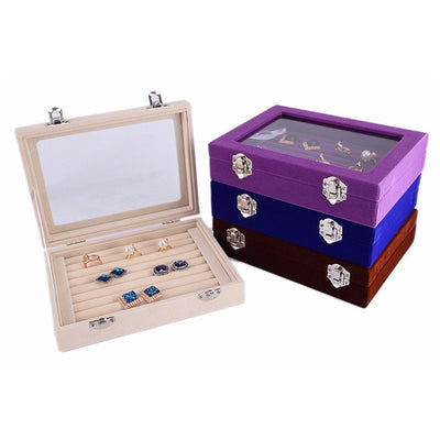 20CM Flannel jewelry Box