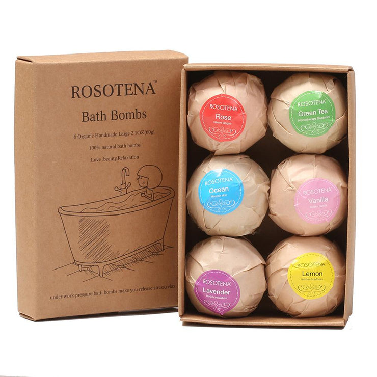 BellyLady 6pcs Bath Bomb