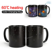 Temperature Change Color Starry Sky Ceramic Cup