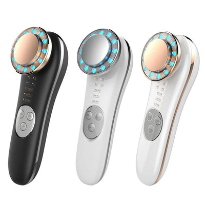 8 in 1 EMS Radio Frequency LED Photon Face Skin Rejuvenation Wrinkle Remover Facial Lifting Skin Rejuvenation Beauty Care Tools
