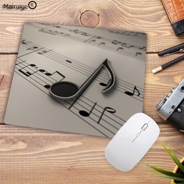 Music Notes Natural Rubber Mouse Pad