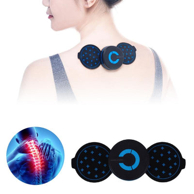 Mini Shoulder Neck Massage Pad Cervical Vertebra/Waist/Arm/Leg Massager Sticker Body Relaxation Health Care Equipment Unisex