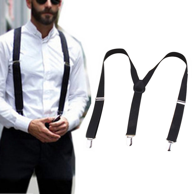Elastic Y-Shape Adjustable Braces Unisex Mens Womens