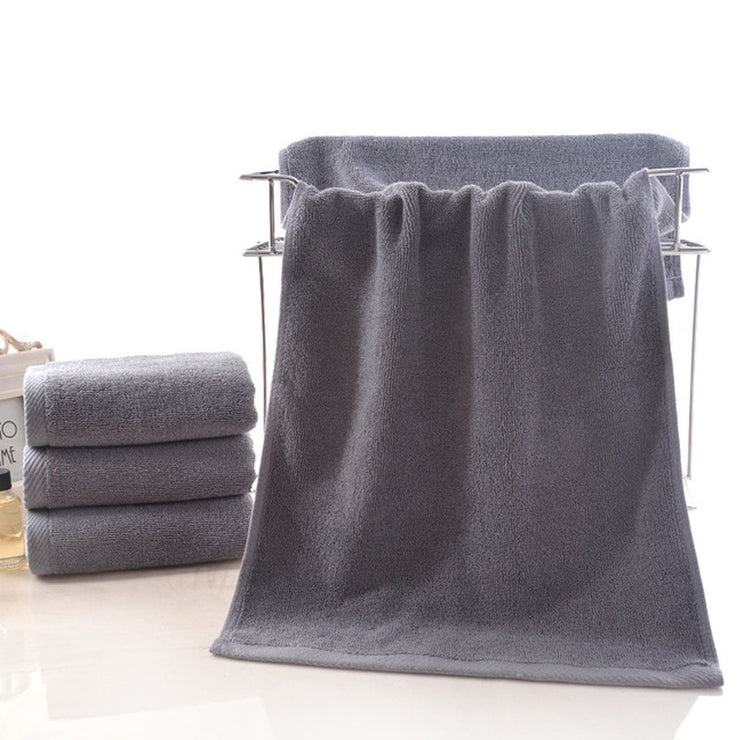 Salon Cotton Gray Face Towel