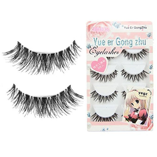 5/10/15pairs Crisscross False Eyelashes Wimper Eyelash Extensions Fake Lashes  Long Faux Cils Eye Lashes Makeup Beauty