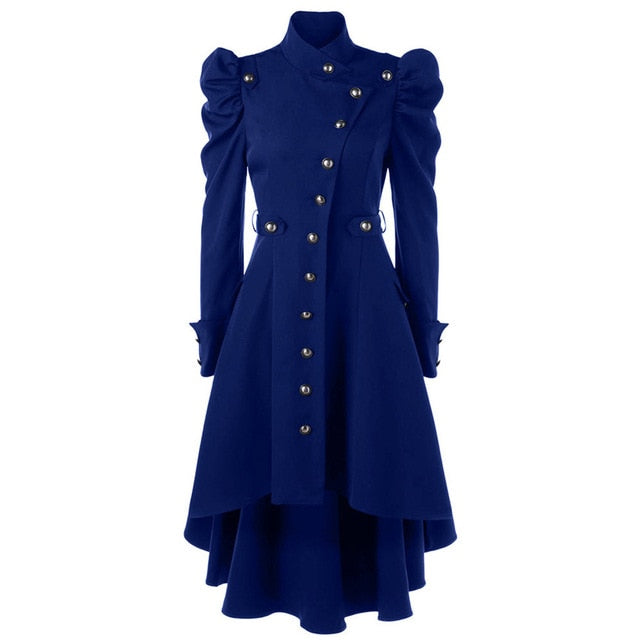 Vintage Steampunk Long Coat