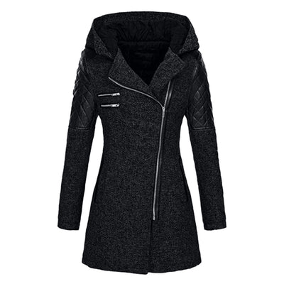 Female Jacket Women Warm Slim Jacket Thick Parka Overcoat