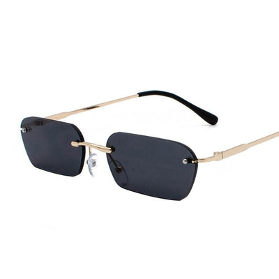 Vintage Rimless Sunglasses