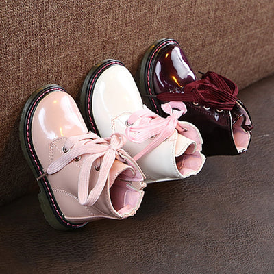 Kids Boots Ankle Warm Sneaker