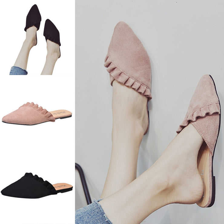 Women Pointed Toe Single Sandals