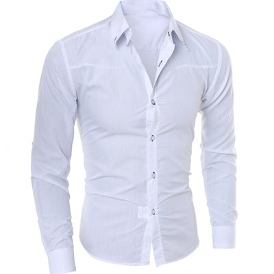 Mens Shirts Long Sleeve Shirt