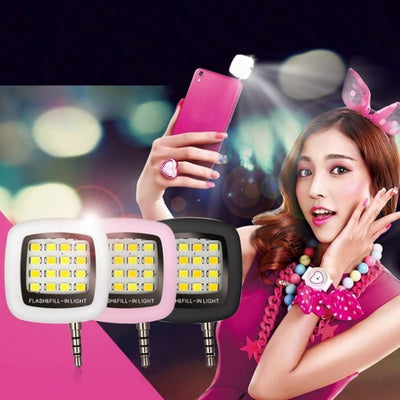 Universal Selfie LED Flash Light
