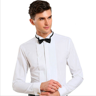 Men's French Cuff Tuxedo Shirt