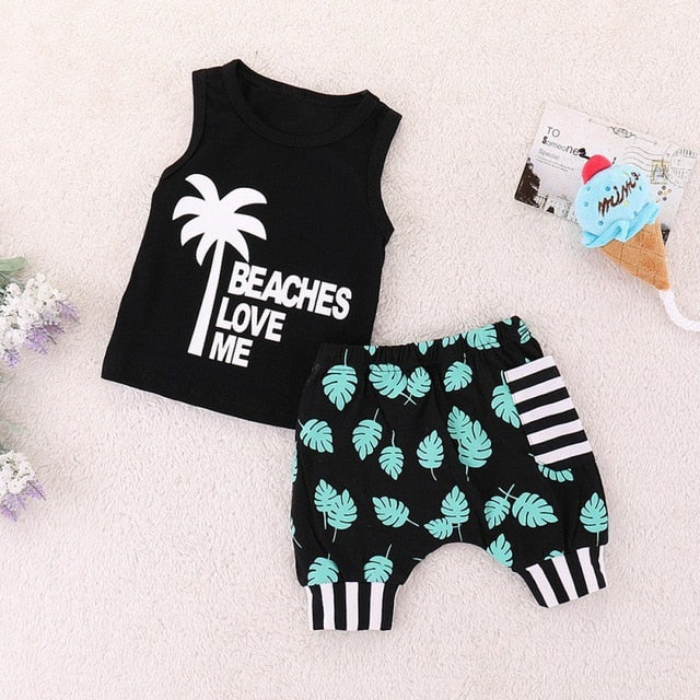 Toddler  Clothes Fashion Cartoon Print