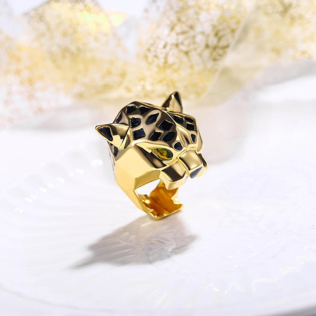 Tuliper Leopard Panther Ring Bague