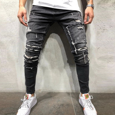 Ripped Skinny Distressed Jeans