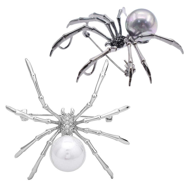 Spider Brooch High-End Female Boutonniere