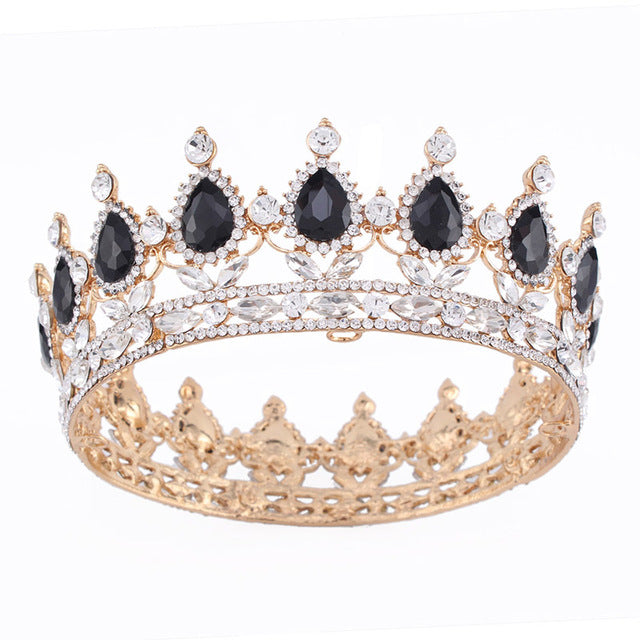 New Fashion Crystal Royal Princess Queen Crowns