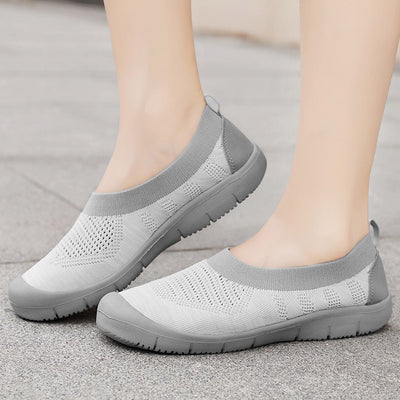 Stretch Slip On Sports Shoes