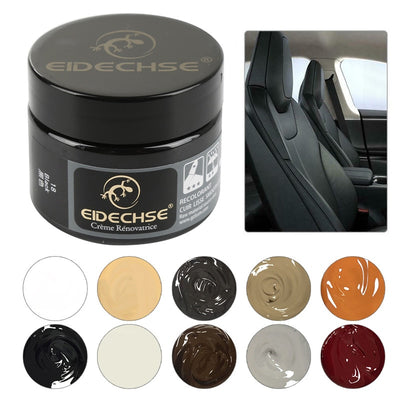 Car Care Liquid Leather Repair Kit Auto Complementary Color Paste