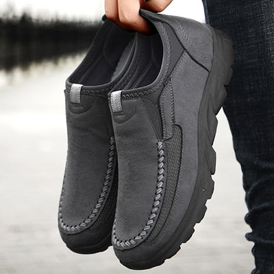 Retro Leisure Loafers Shoes Men Shoes
