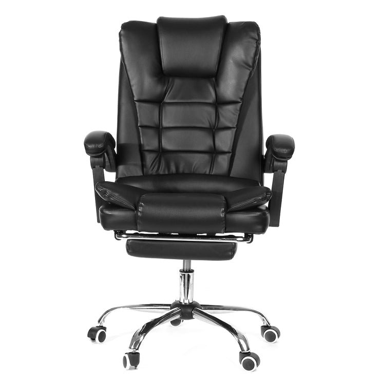 Office Chair Adjustable Rotating Lift Leather