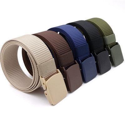 Men or Female Belts Military Nylon Belt