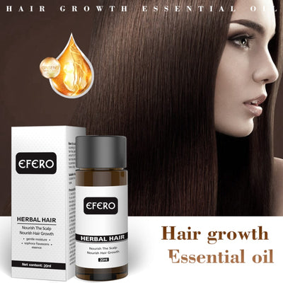 EFERO Hair Loss Treatment Anti-hair Loss Treatment Serum Essential Oil Hair Growth Serum for Hair Care Prevent Baldness TSLM1