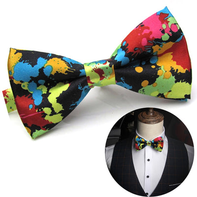 Festival Charming Party Wedding Colorful Groom Men Bow Tie