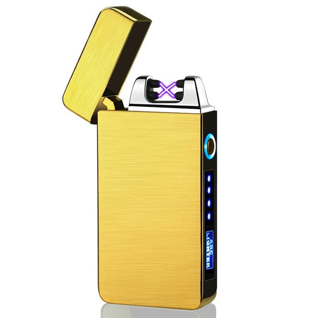 Portable USB Electric Lighter Windproof