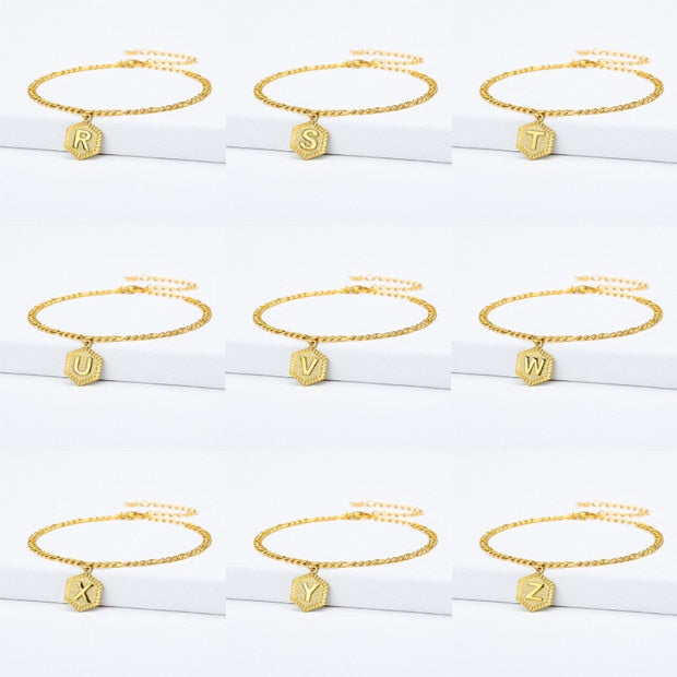 Letter Anklets Bracelet for Women
