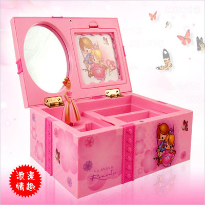 Dream Girl Music Box Childrens Musical Jewellery Box