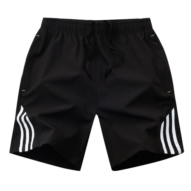 2020 Boardshorts Male Casual Fitness Striped Men's Sportswear Jogger Bodybuilding Shorts