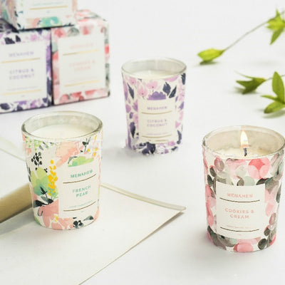 Small Scented Candle Souvenir