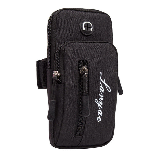 Simple Style Running Men Women Arm Bags
