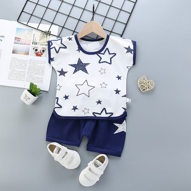 2pcs Toddler Baby Summer Boys Clothes
