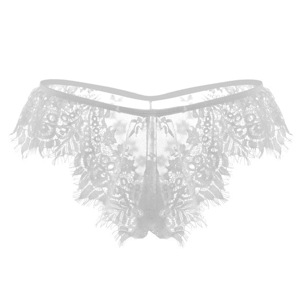 Hot Sale Women Sexy Erotic Lace Briefs Underwear Panties
