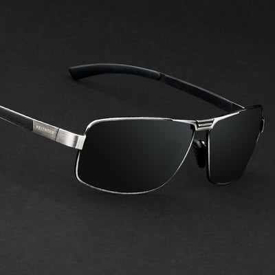 Mens Polarized Aviation Alloy Frame Sunglasses 2020 Brand Design Pilot Male Black UV400 Sun Glasses Driving