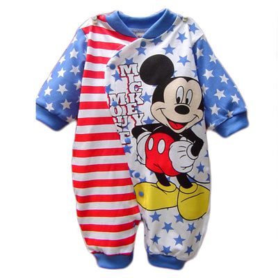Disney Baby Boy Clothes Cotton Baby Rompers