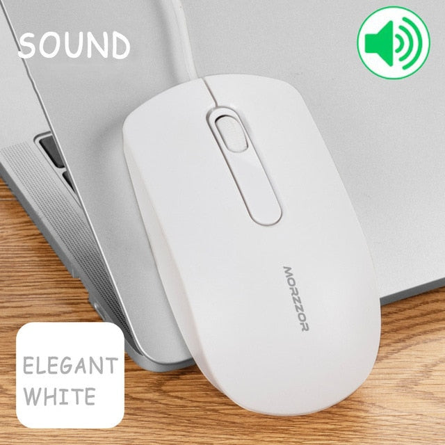 USB Wired Ergonomic Mouse