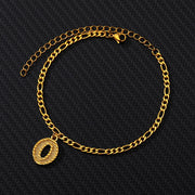 Gold Ankle Bracelet