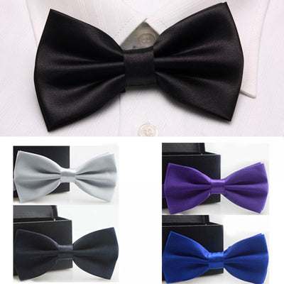 Men Bowtie Newest Butterfly Knot Mens Accessories Luxurious Bow Tie Black Cravat Formal Commercial Suit Wedding Ceremony Ties