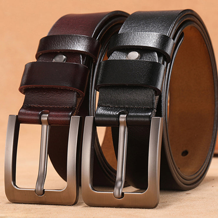 Leather Men's Leisure Belt