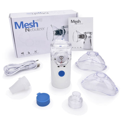 US Stock Portable Nebulizer Inhaler Adult Nebulizador Portatil Medical Equipment Health Care Inalador Adulto USB charge