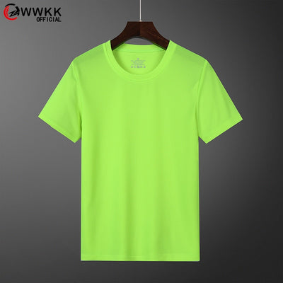 Solid Color T Shirt Men Black And White