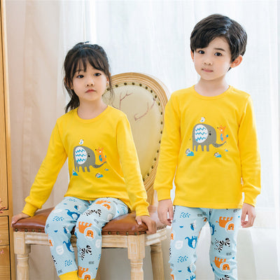 Cotton Children's Pajamas Sets