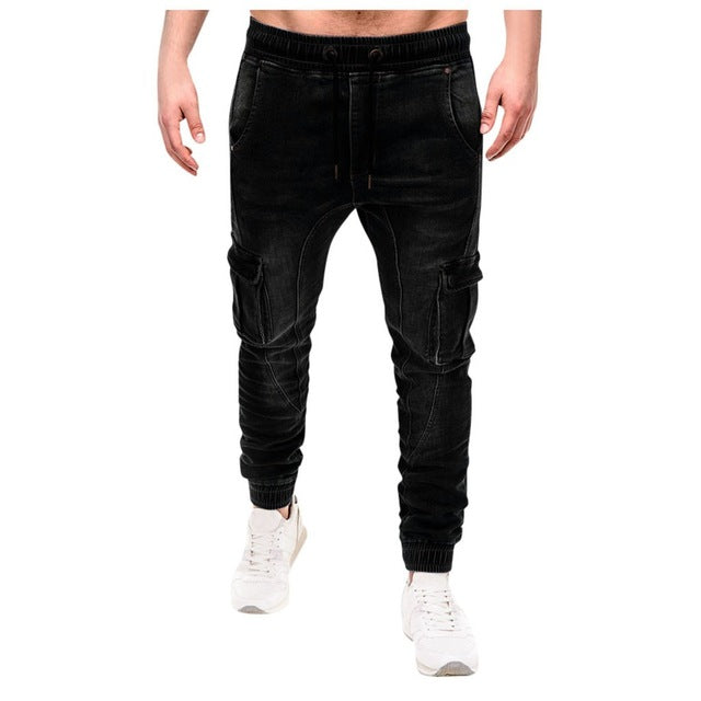 Fashion Men Jeans With Side Pockets