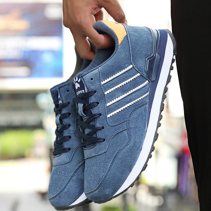 Men Casual Shoes Light Artificial Leather Sneakers
