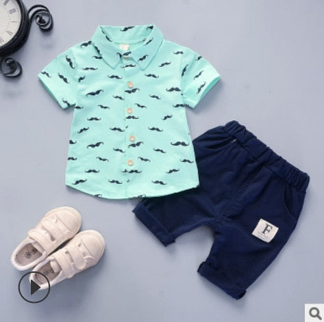 New Baby Shirt Clothing Set Summer Casual Wear