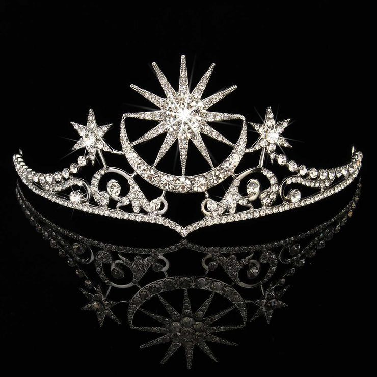Rhinestone Crystal Diamond Queen Crown